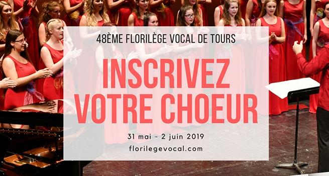 Florilège Vocal : les inscriptions sont ouvertes!