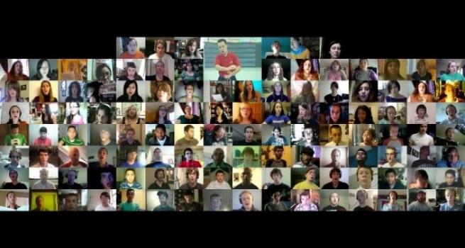 3000 voix chantent en chœur sur le net