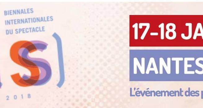 Les Biennales Internationales du Spectacle, les 20 et 21 janvier 2016 à Nantes.