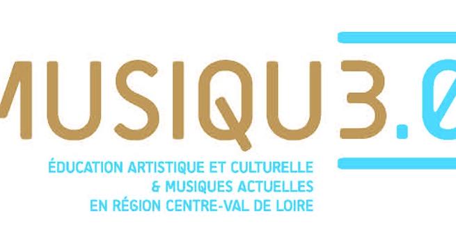 MUSIQU3.0 : Éducation Artistique et Culturelle & Musiques Actuelles en région Centre-Val de Loire